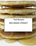 2nd Grade Paul Bunyan Literacy Activity