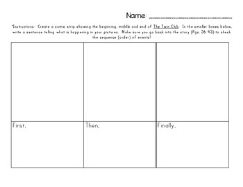 2nd Grade Pearson Reading Street Unit 1 Packet