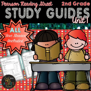 2nd Grade Reading Street Unit 1 Weekly Study Guides