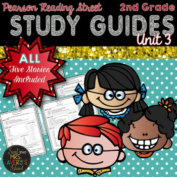 2nd Grade Reading Street Unit 3 Weekly Study Guides