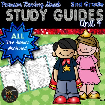2nd Grade Reading Street Unit 4 Weekly Study Guides