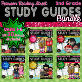 2nd Grade Reading Street Weekly Study Guide Bundle for Units 1-6