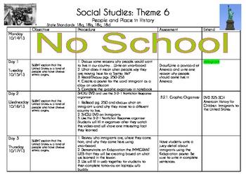 2nd Grade People & Places (Mcgraw-Hill Social Studies) Theme 6 Unit Bundle