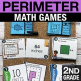 2nd Grade Perimeter Math Centers | Math Games