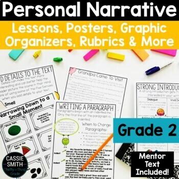 2nd Grade Personal Narrative Writing Unit W 2 3