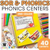 2nd Grade Phonics Centers   Printable & Digital   Literacy