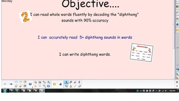 2nd Grade Phonics - Diphthongs