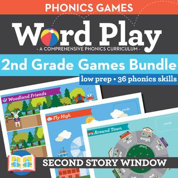 2nd Grade Phonics Games