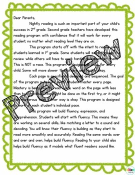 2nd Grade Phonics Homework for the Whole Year