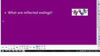 2nd Grade Phonics - Inflected Endings