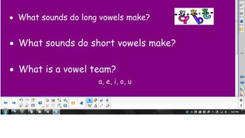 2nd Grade Phonics - Long Vowels and Compound Words