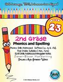 2nd Grade Phonics & Spelling Zaner-Bloser Week 23 (-tion,