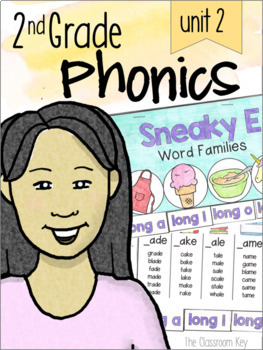 2nd Grade Phonics Unit 2 - CVCe, r-controlled vowels, y as a vowel, syllables