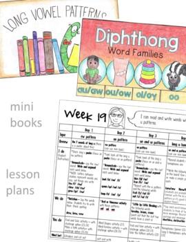 2nd Grade Phonics Unit 4 - diphthongs, tch, dge