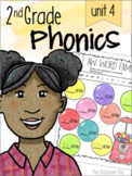 2nd Grade Phonics Unit 4 - diphthongs, tch, dge