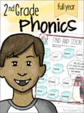 2nd Grade Phonics Year Long Bundle