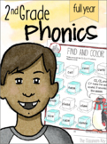 2nd Grade Phonics Year Long Bundle