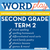 2nd Grade Phonics and Chunk Spelling Curriculum Term 2