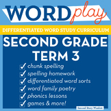 2nd Grade Phonics and Chunk Spelling Curriculum Term 3