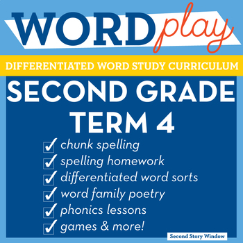2nd Grade Phonics and Chunk Spelling Curriculum Term 4