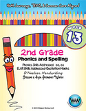 2nd Grade Phonics and Spelling D'Nealian Week 13 (Vowel Digraphs ee, ea)