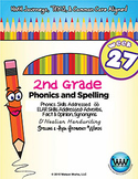 2nd Grade Phonics and Spelling D'Nealian Week 27 (short oo)