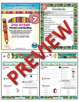 2nd Grade Phonics and Spelling D'Nealian Week 7 (Digraph ck, Floss Rule)