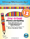 2nd Grade Phonics and Spelling Zaner-Bloser Week 12 (Vowel Digraphs ai, ay)