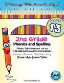 2nd Grade Phonics and Spelling Zaner-Bloser Week 13 (Vowel