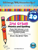 2nd Grade Phonics and Spelling Zaner-Bloser Week 20 (R-Controlled Vowels – or)
