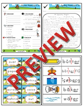 2nd Grade Phonics and Spelling Zaner-Bloser Week 21 (er, ir, ur)