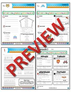 2nd Grade Phonics and Spelling Zaner-Bloser Week 3 (long ā & ī, hard c, soft ç)