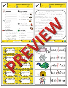 2nd Grade Phonics and Spelling Zaner-Bloser Week 30 (Longer Words w/ ō & ē, -le)
