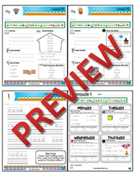 2nd Grade Phonics and Spelling Zaner-Bloser Week 4 (ē, ō, & ū; hard & soft ġ)