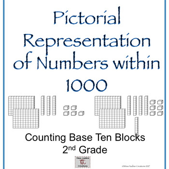 2nd Grade- Pictorial Representation of Numbers within 1000