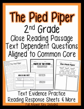 2nd Grade Common Core: Passage for Close Reading, Assessment, & Response