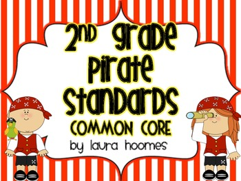 2nd Grade Pirate Standards COMMON CORE