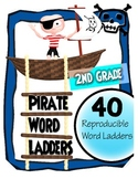 2nd Grade - Pirate Word Ladders