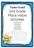 2nd Grade Place Value Activities