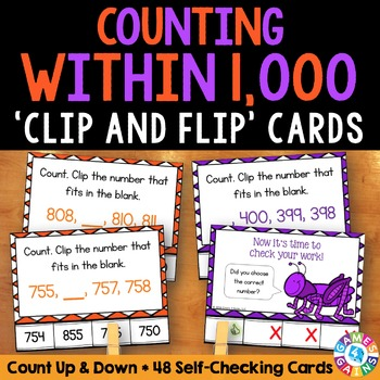 2nd Grade Place Value Activity: Count Within 1,000 {2.NBT.2}