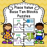Place Value Base Ten Blocks Activity Expanded Form Place Value 2nd Grade 2.NBT.3