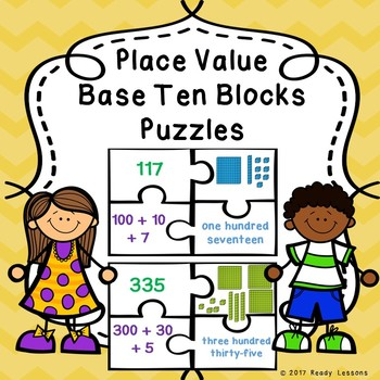 Place Value Base Ten Blocks Activity Expanded Form Place Value 2nd