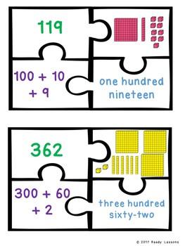 Place Values Base Ten Block Activity Expand Form Places Value 2nd Grade 2.NBT.3