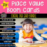 2nd Grade Place Value Boom Cards Bundle | Distance Learning