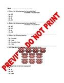 2nd Grade Place Value CCSS Assessment