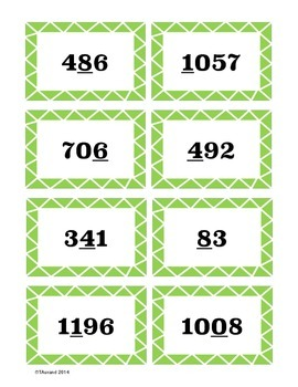 2nd Grade Place Value Game
