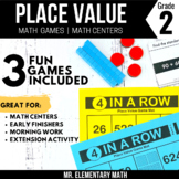 2nd Grade Place Value Games and Centers