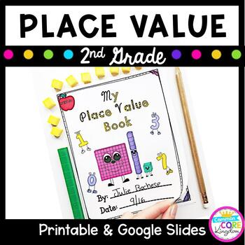 2nd Grade Place Value Hundreds, Tens, Ones- 2.NBT.A.1