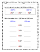 2nd Grade Place Value Packet