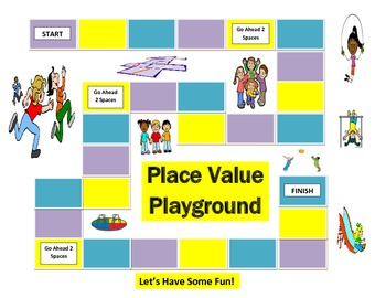2nd Grade Place Value Playground Game for Common Core